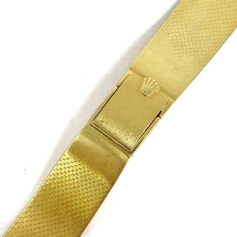 Custom Rolex 18K Gold 18mm Bracelet