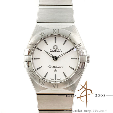 Omega Constellation Ladies' Steel Quartz 131.10.25.60.02.001