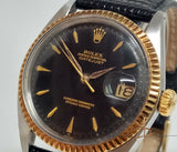 Rolex Vintage Oyster Perpetual Datejust Arrow Head Dial Ref 1601  (Year 1964)