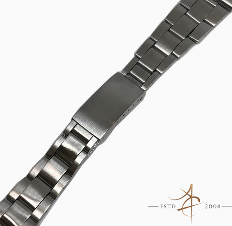 Rolex 19mm Thin Oyster 7835 Steel Metal Bracelet End link 357