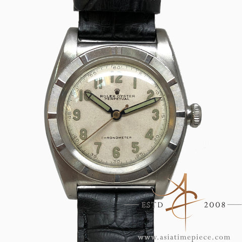 Rolex Oyster Perpetual Chronometer Bubbleback Ref: 3372 (Year 1945)