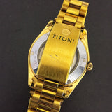 Titoni Cosmoking Day-Date Rotomatic Vintage Watch 737-SC