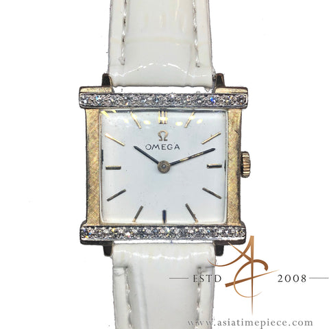 Omega Ladies 14k Solid Gold Watch