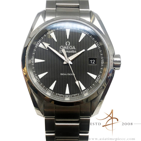 Omega Seamaster Aqua Terra Quartz Steel on Steel Watch
