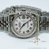 Rolex Midsize Datejust White Dial Ref 68274  (Year 1995)