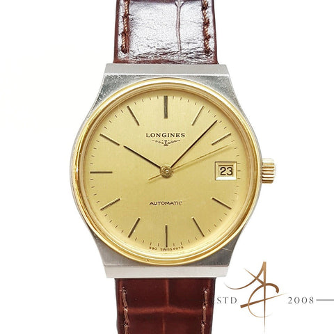 Longines Vintage 990 Automatic Date Sweep Second Watch