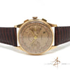 Chronographe Suisse 18K Gold Vintage Watch