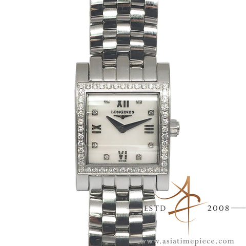 Longines SS & MOP Mother of Pearl Diamond Dolce Vita Ref: L51660886