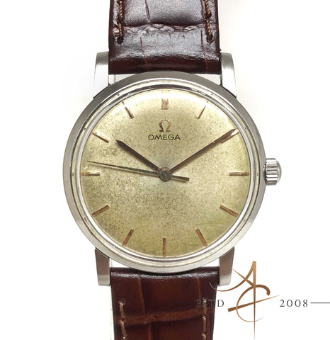 Omega Hand-Winding Vintage Watch