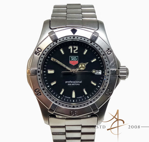 Tag Heuer Professional WK1210 Quartz Watch