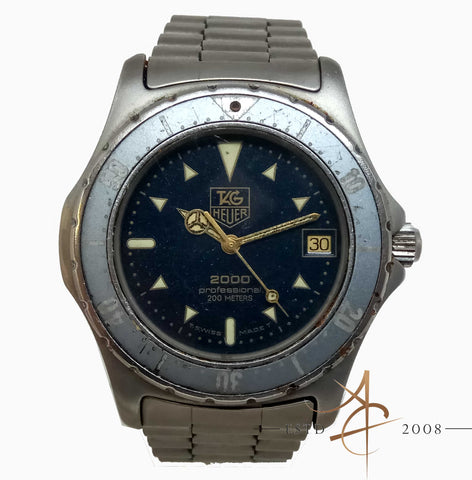 Tag Heuer 2000 Quartz Watch Ref: 972.606