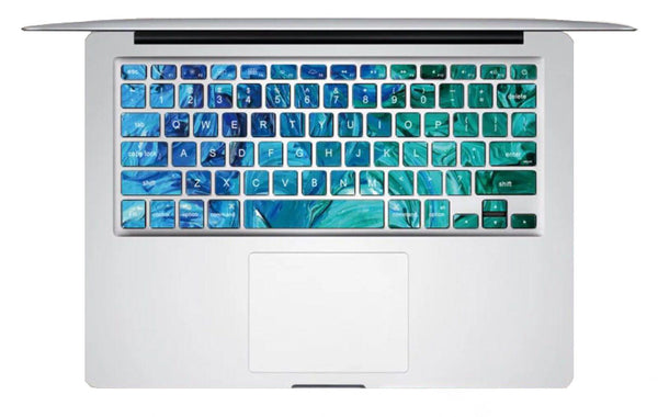Keyboard Sticker - Aqua