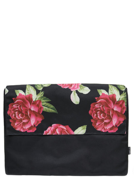Laptop Sleeve - Black Roses (Half)