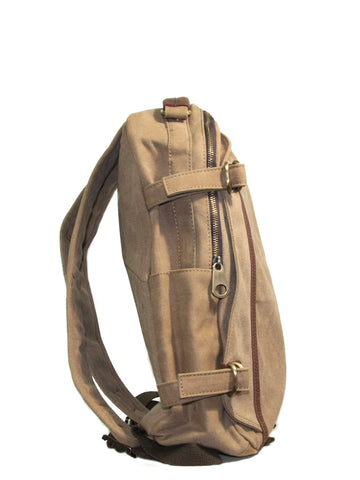 Manhattan Quinn Backpack (Sand)