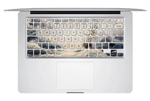 Keyboard Sticker - Ship In High Sea