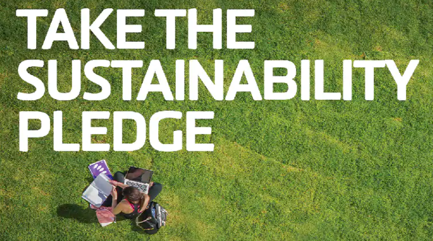 sustainability pledge