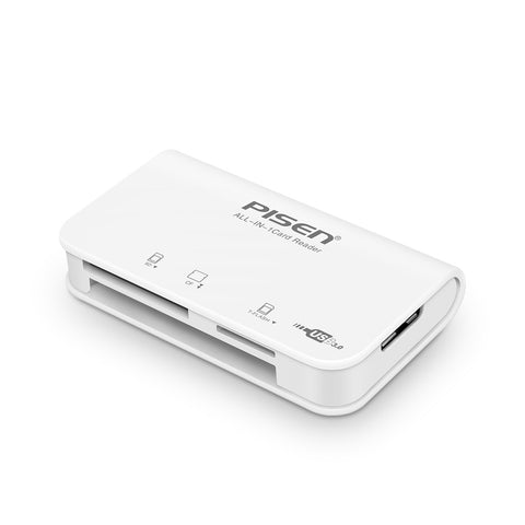 PISEN Portable Card Reader SD CF TF USB 3.0