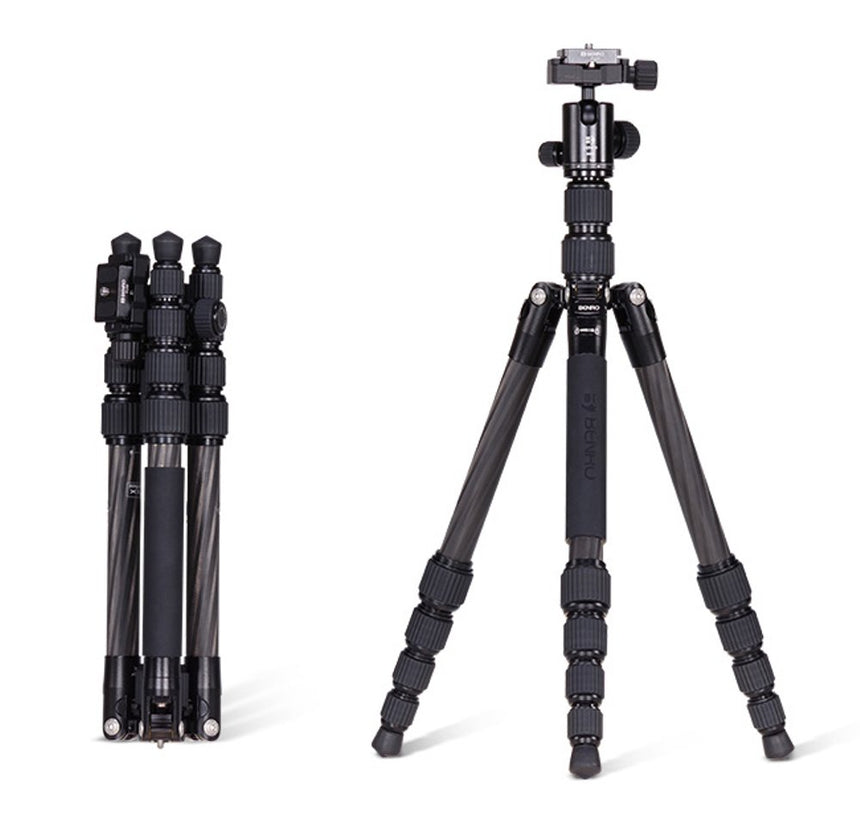 Camera Tripod Carbon Fiber (Entry/Professional Model)- -DryBox SG Pte. Ltd.