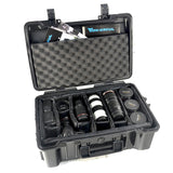 21' Camera Equipment Luggage Hard Case Roller