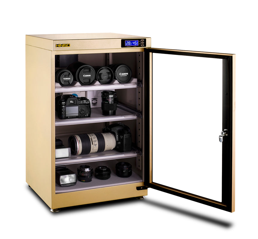 95L Champagne Gold Dry Cabinet Box