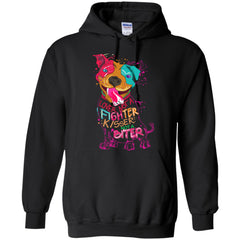 Hoodies - LOVER NOT A FIGHTER HOODIE
