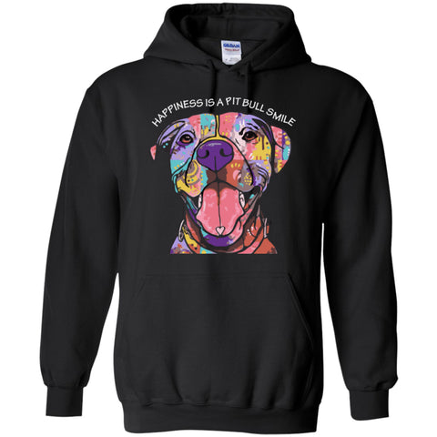 Happiness Is A Pit Bull Smile - Hoodie