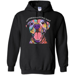 Hoodies - Pit Bull - Lover Not A Fighter - Hoodie