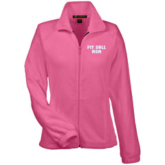 Jackets - Pit Bull Mommy - Womens Fleece Jacket