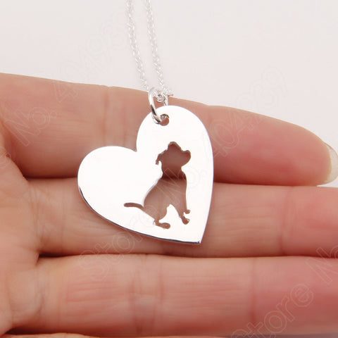 I Love My Pitbull Necklace