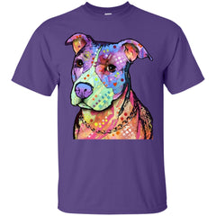 Tees - Multicolor Pit Bull - Shirt