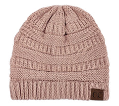 Slouchy Cable Knit Beanie Skully Hat - PacificPlex