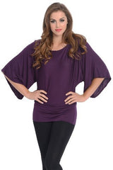 Kimono Off-Shoulder Tee T-shirt Top - PacificPlex - 25