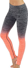 Ombre Long Yoga Leggings - PacificPlex