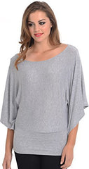 Kimono Off-Shoulder Tee T-shirt Top - PacificPlex - 20