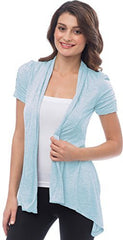 Sheer Short Sleeve Cardigan Cover-up