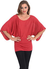 Kimono Off-Shoulder Tee T-shirt Top - PacificPlex - 40