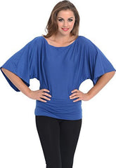 Kimono Off-Shoulder Tee T-shirt Top - PacificPlex - 63