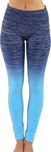 Ombre Long Yoga Leggings