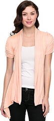 Sheer Short Sleeve Cardigan Cover-up - PacificPlex