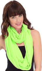 Solid Color Infinity Loop Circle Scarf - PacificPlex
