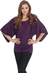 Kimono Off-Shoulder Tee T-shirt Top - PacificPlex - 19