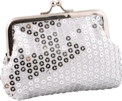 Sequin Mini Clutch Bag