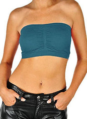 Seamless Bandeau Bra Tube Top - PacificPlex