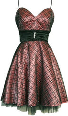 Flocked Mesh Satin Homecoming Party Holiday Prom Dress - PacificPlex