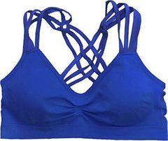 Racerback Strappy Sports Bra