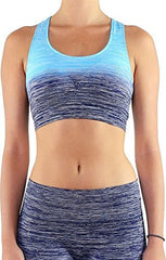 Ombre Yoga Sports Bra Top - PacificPlex