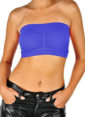 Seamless Bandeau Bra Tube Top
