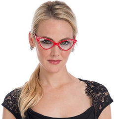 Vintage Cat Eye Clear Lens Glasses - PacificPlex