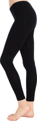 Cotton Stretch Ankle Length Leggings - PacificPlex