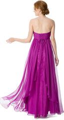 Sweetheart Evening Gown Prom Long Dress - PacificPlex - 7